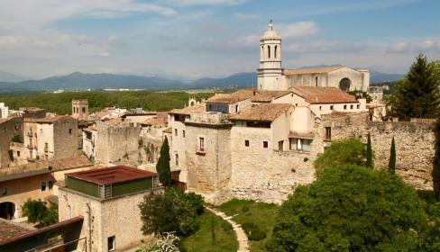 Girona castle views
